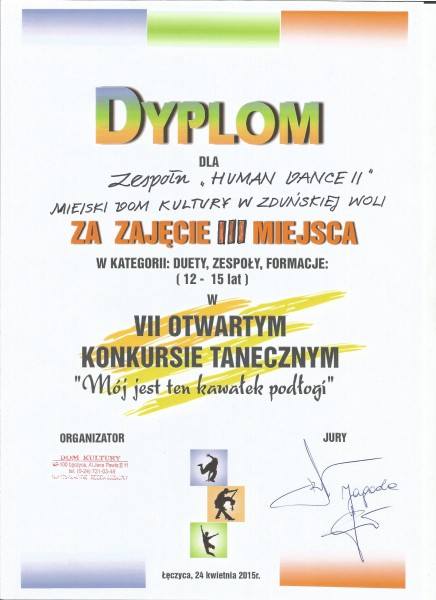 Leczyca_-_HUMAN_DANCE_II