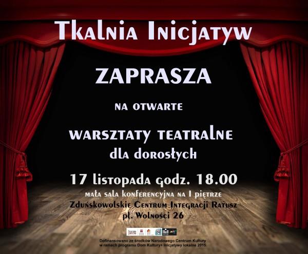 Plakat_warsztaty_teatralne