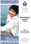 plakat Halina Kunicka