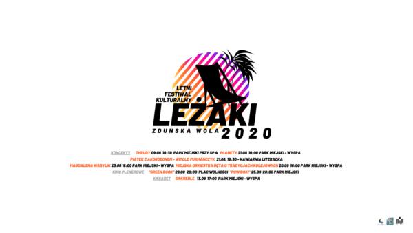 """LETNI FESTIWAL KULTURALNY """"LEŻAKI 2020"""""""
